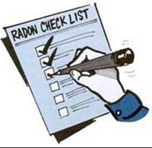 RRNC check list radon