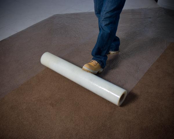 Sticky Plastic for Carpet