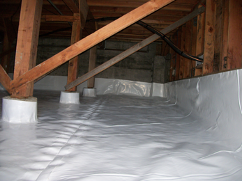 Crawlspace 1800 Clean White Crawl Space Sheeting