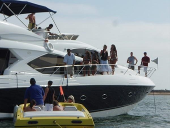 GPS goes boating