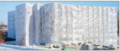 Reinforced Enclosure Film Heavy duty plastic sheeting