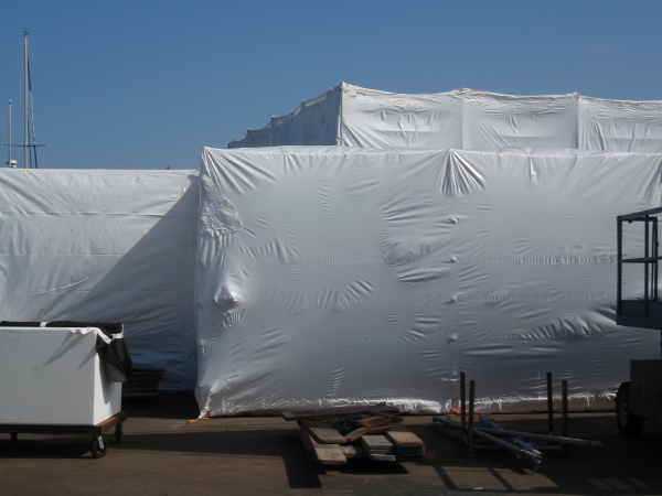 Heat Shrink Wrap in Action- Global Plastic Sheeting