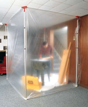 Containment Heat Shrink Wrap That Is Asfr Zipwall