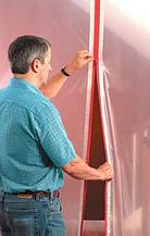 Self Adhesive Heavy Duty Zipper Make A Door