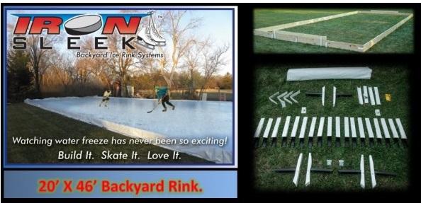 backyard ice rink system
