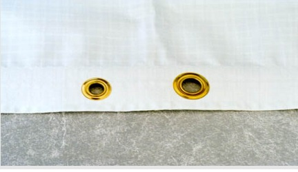 Plastic Sheeting with Grommets