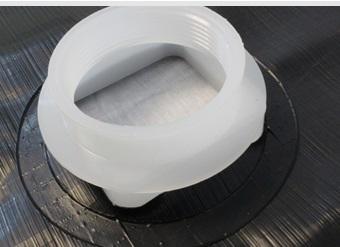 Plastic sheeting accessory