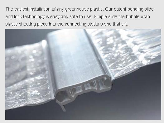 greenhouse plastic connector