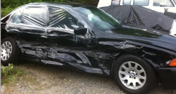 Plastic Wrap Car >> Crash Wrap Plastic Sheeting How Should You Charge For It