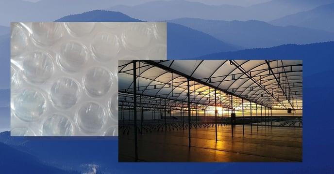 Greenhouse Plastic Bubble SolaWrap