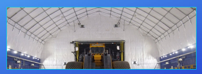 Clearspan Fabric Structures Can Be Insulated