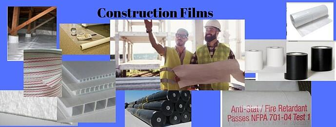 Construction Films Plastic Sheeting