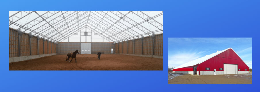 Dairy barns fabric buildings 2