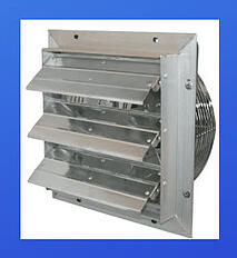 ES Shutter Fan is a durable exhaust fan t
