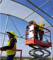 Greenhouse Plastic SolaWrap Install New Mexico 2.jpg