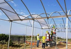 Greenhouse Plastic SolaWrap Install New Mexico 3.jpg