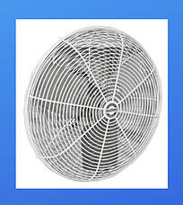 Greenhouse fan for air circulation