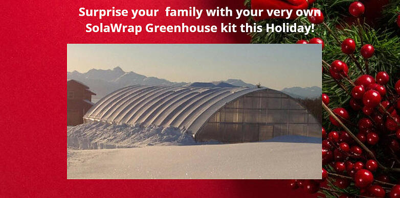 Greenhouse kit for Christmas
