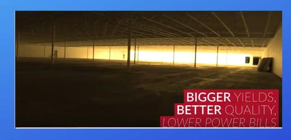 Grow Lights bigger yields lower power bills