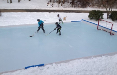 Ice Rink Liners Hockey Rink Liner - Backyard ice rink liners