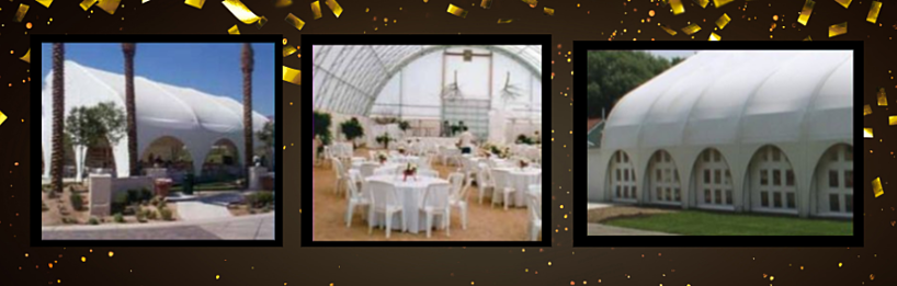 Fabric Structures For Hospitality- Event Centers, Wedding Venues, Concert Halls