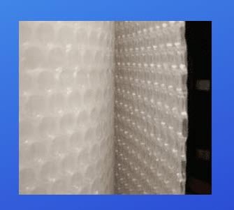 SolaWrap Bubble Wrap greenhouse plastic