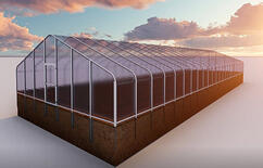 SolaWrap Greenhouse Structure