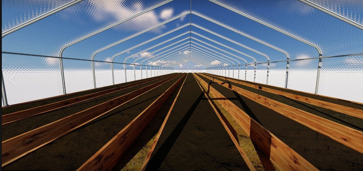 SolaWrap Greenhouse structures