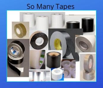 Tapes so many