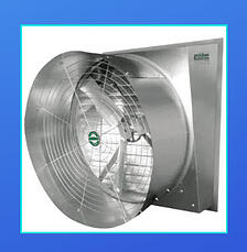 Typhoon slant wall fan