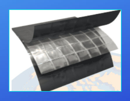 Ultra scrim 6 plastic sheeting with string
