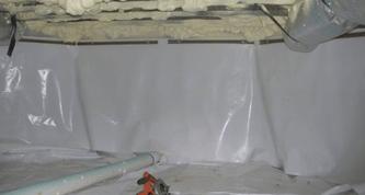 Poly scriml space vapor barriers for Fireproof vapor barrier