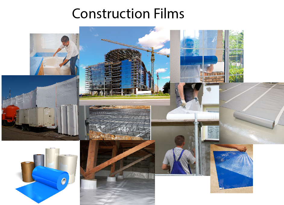 Plastic Sheeting for Construction projects
