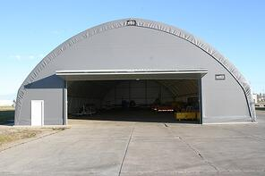 fabric structure for Aviation 65' L10' x 144' Atlas to store fighter jets.jpg