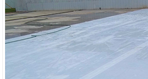 temporary concrete curing blankets