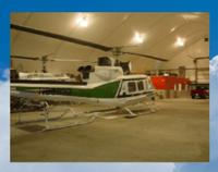 Fabric bulding airplane hangar