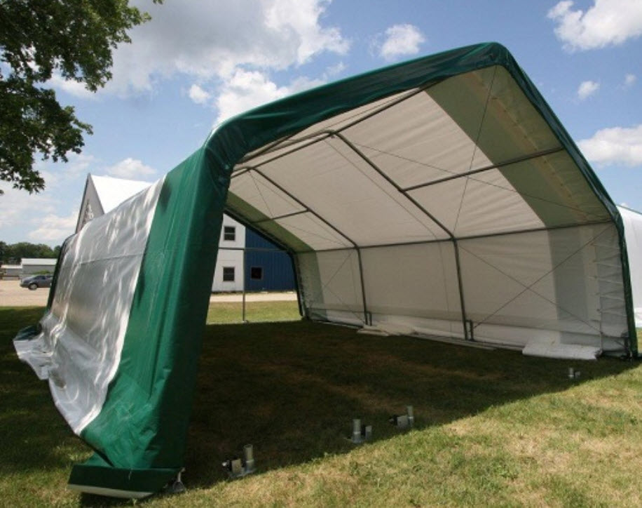 Coverall Buildings Fabric Structures 300 Wide Steel
