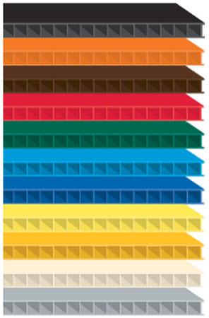 Gps Corrugated Plastic Fr Sheets