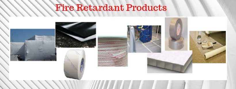 Flame retardant fire retardant plastic and tape