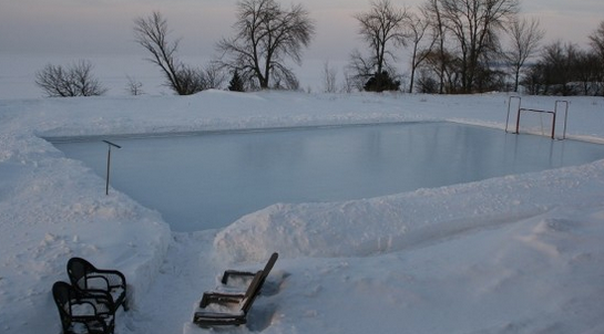Ice Rink DIY