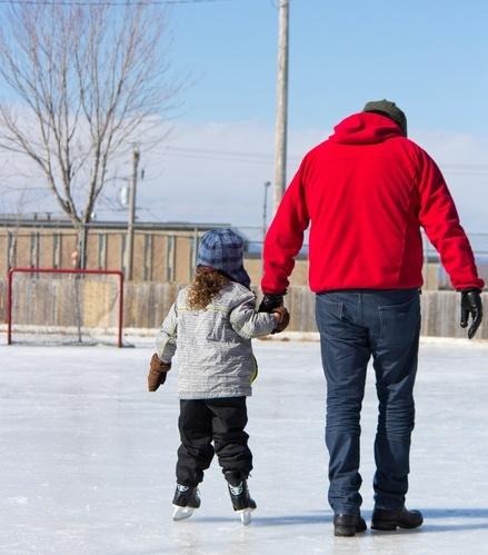 Let's go ice skating!