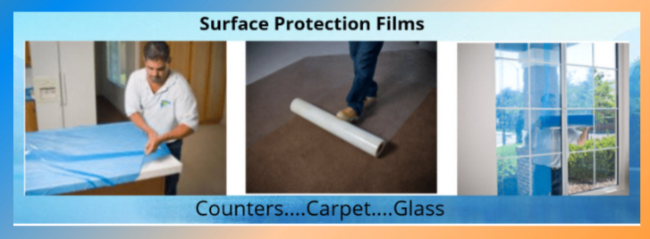 Carpet Covering, Counter top protection, glass protection