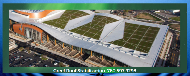 Enkamat 7010- For Green Roof Plant Stabilization