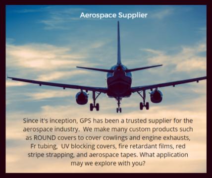Aerospace supplier Fire Retardant and more