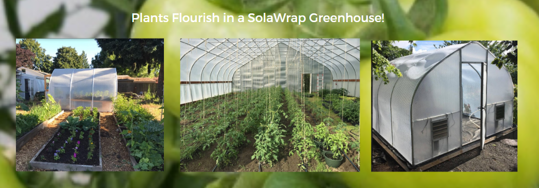 Greenhouse SolaWrap