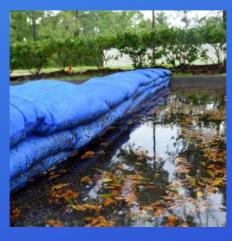 Flood Control- Sandless Sandbags Call 760 597 9298