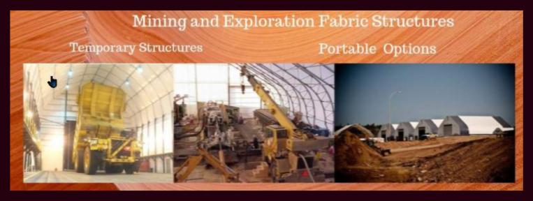 Temporary & Portable Fabric Buildings