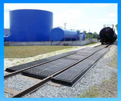 Railroad Spill Containment- Ultra-Track Pan