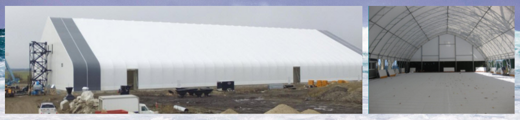 Fabric Building for Commercial Use 760 597 9298