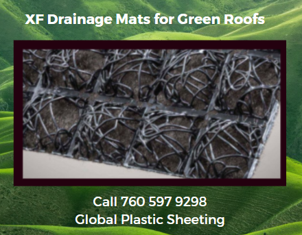 XF Drain Geocomposite Drainage, Filter, Aeration & Water Retention Functions